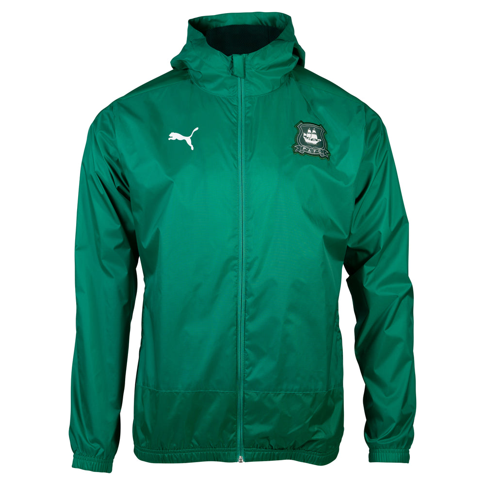 20-21 Adult Green Training Rain Jacket