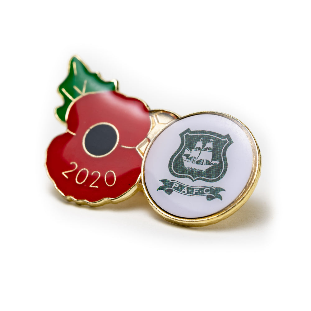 2020 Poppy Football Pin