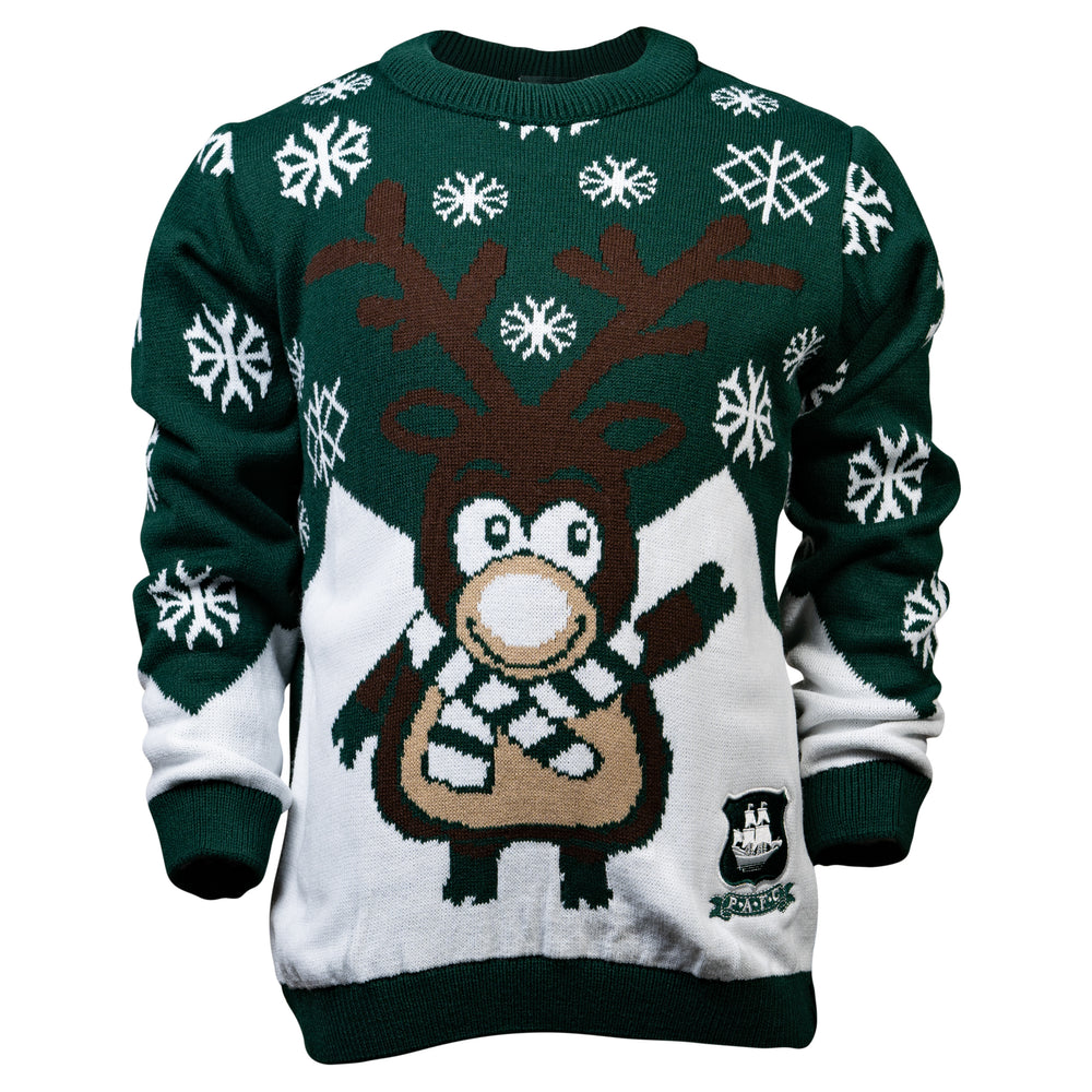 Childs Reindeer Christmas Jumper