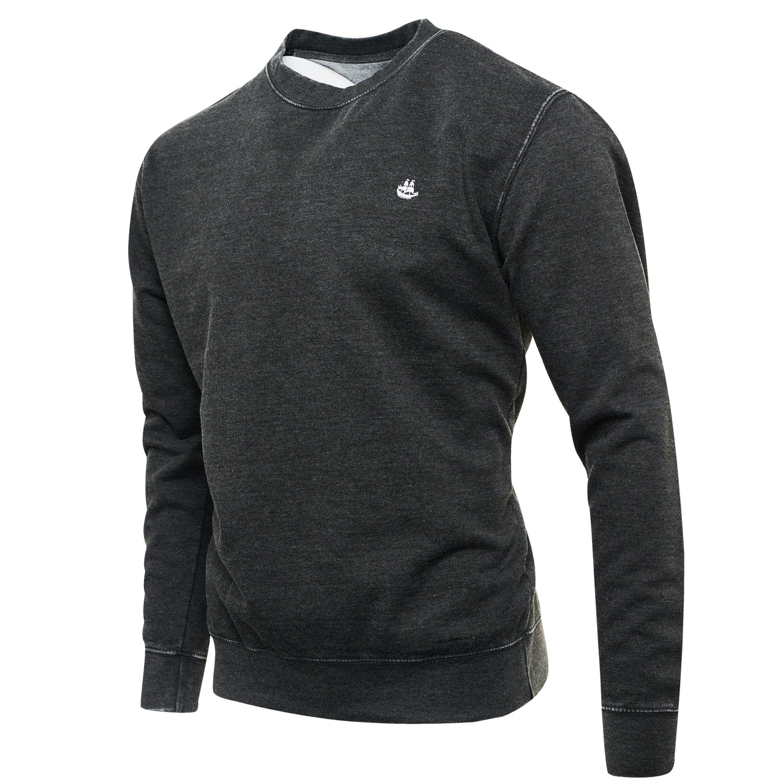 Washed Charcoal Sweat Top