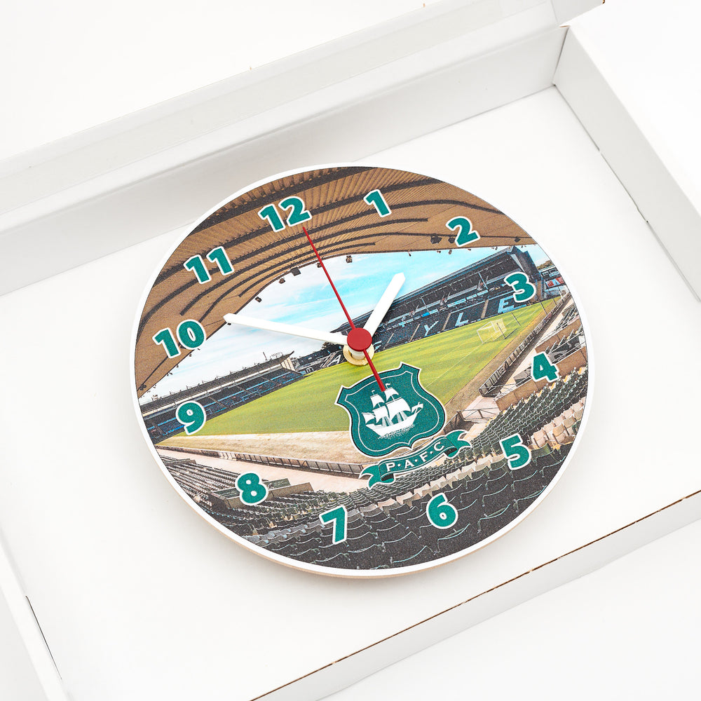 Wooden Stadium Clock