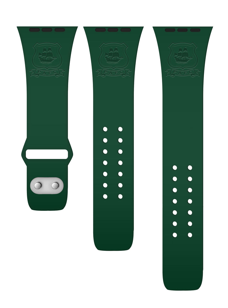 Green Crest Smart Watch Strap