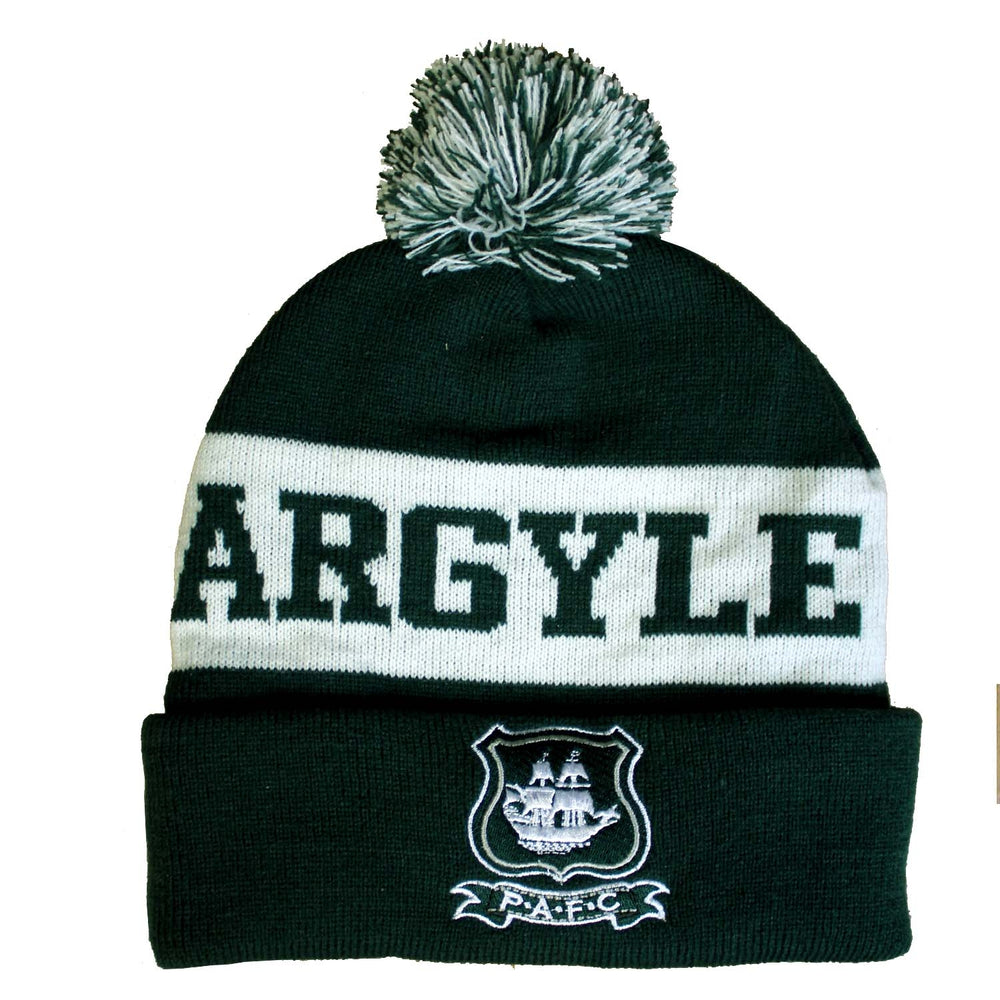Green Argyle Hat