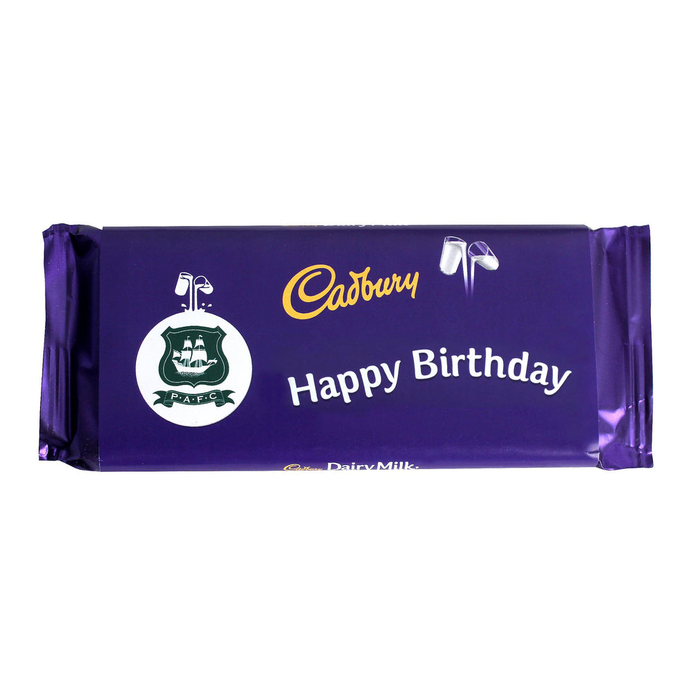 Happy Birthday Crest Cadbury