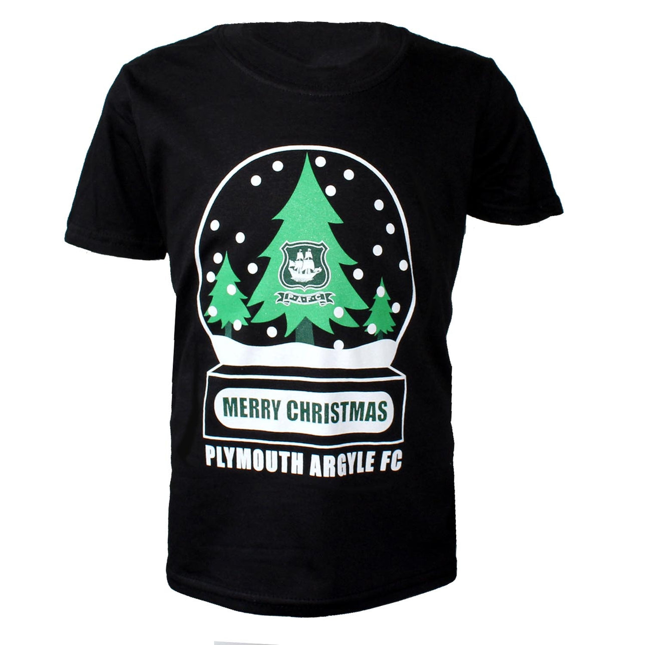 Junior Christmas Tee Black