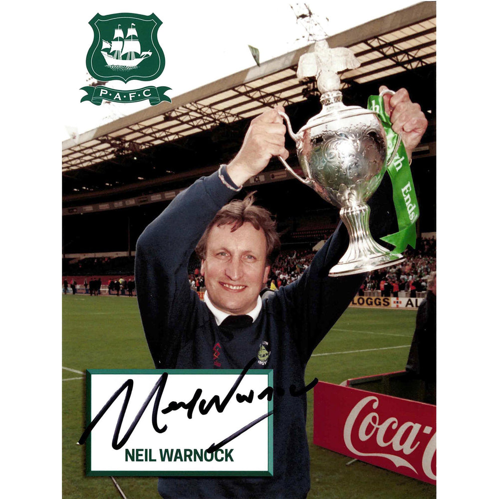 Neil Warnock Signed Print