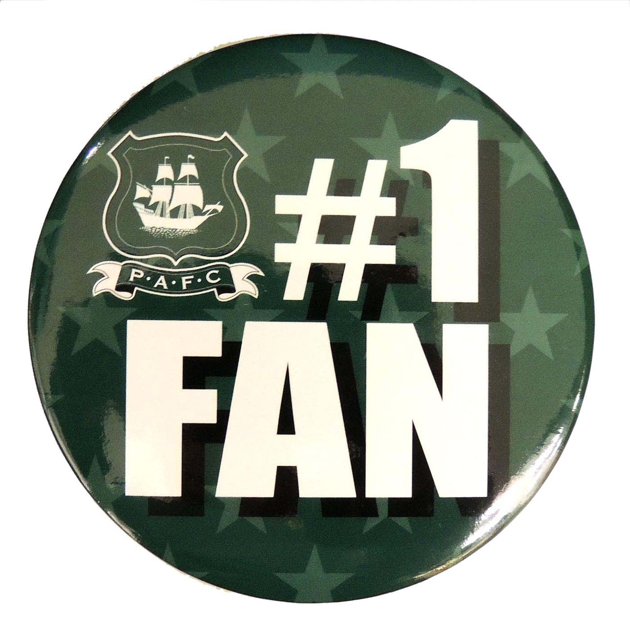 Number 1 Fan Badge