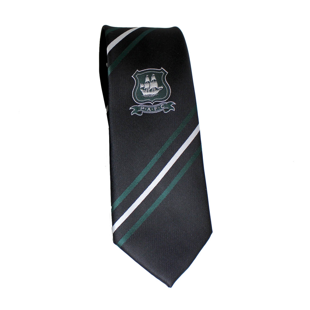 PAFC Black Slim Fit Tie