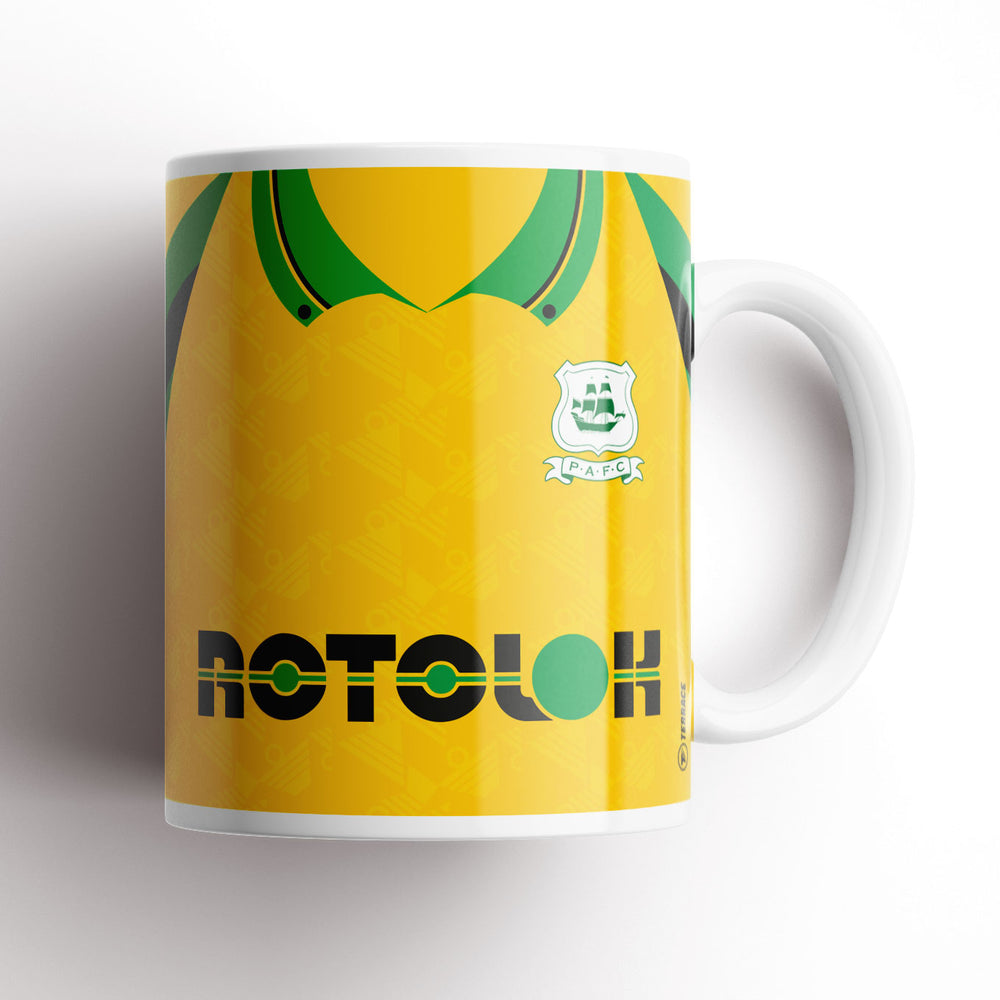 Yellow 90s Retro Kit Mug