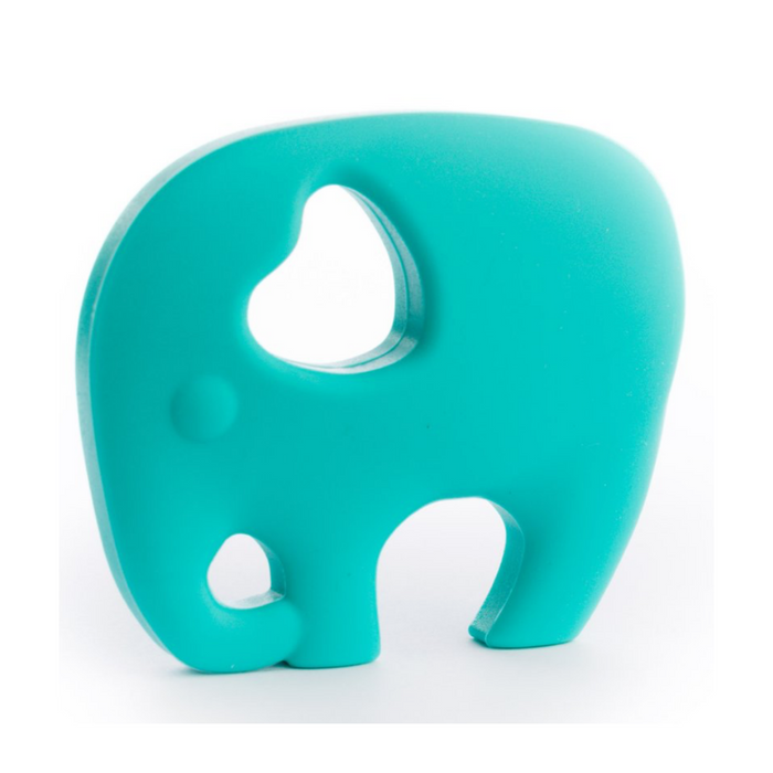 ELEPHANT LOVE TEETHER-Turquoise