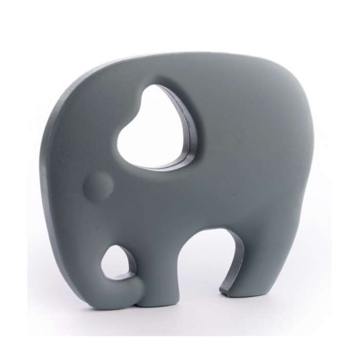 ELEPHANT LOVE TEETHER-Pebble