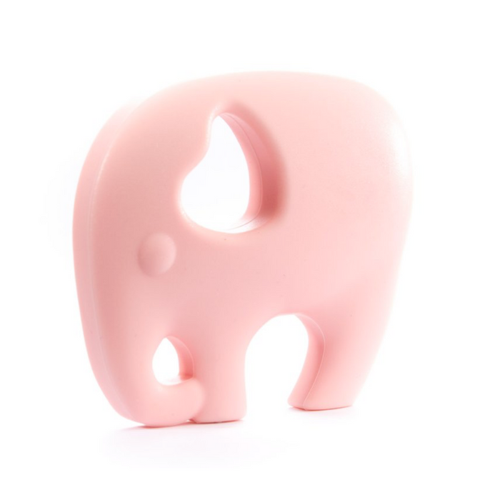 ELEPHANT LOVE TEETHER-Petal