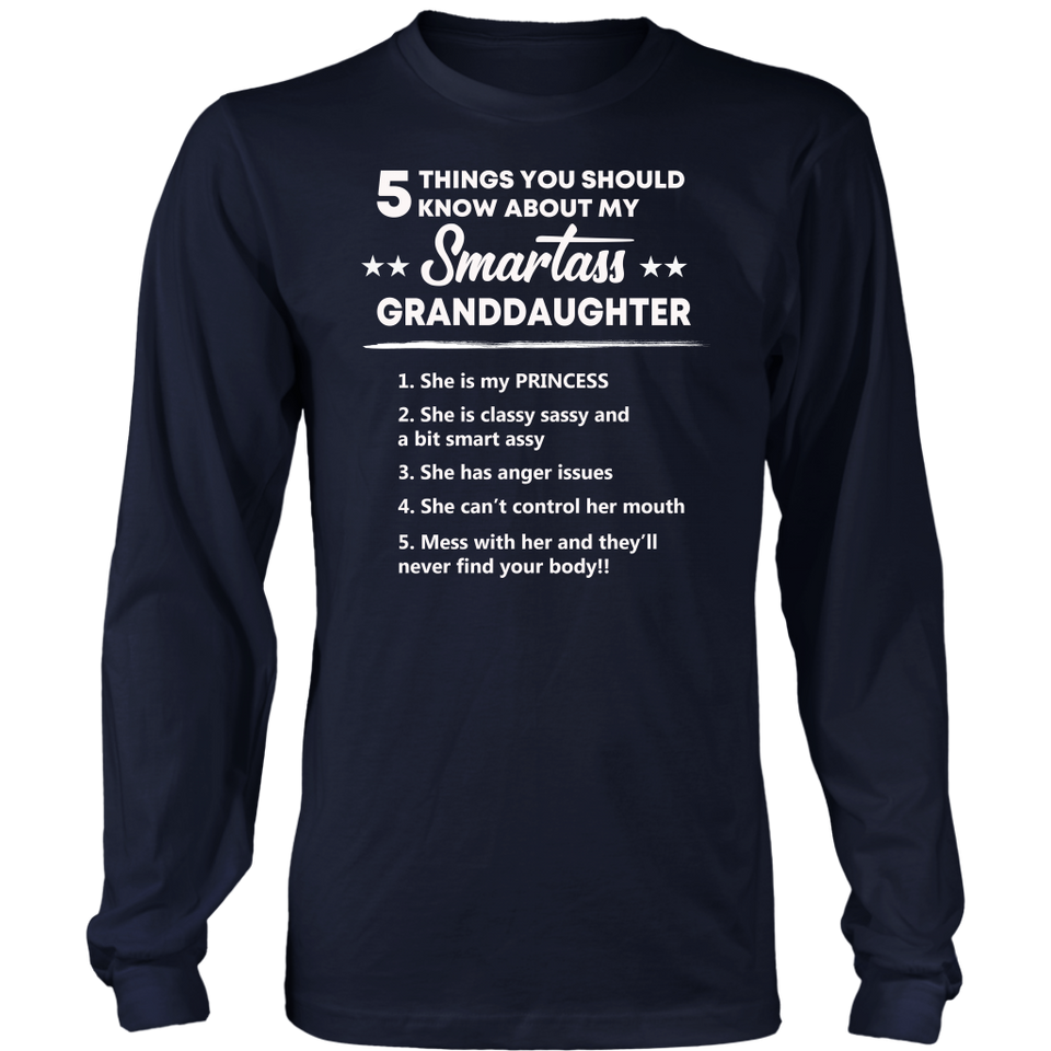 5 Things you should know about my Smartass Grandaughter