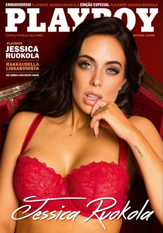 Jessica Ruokola Playboy Portugal November and December 2016