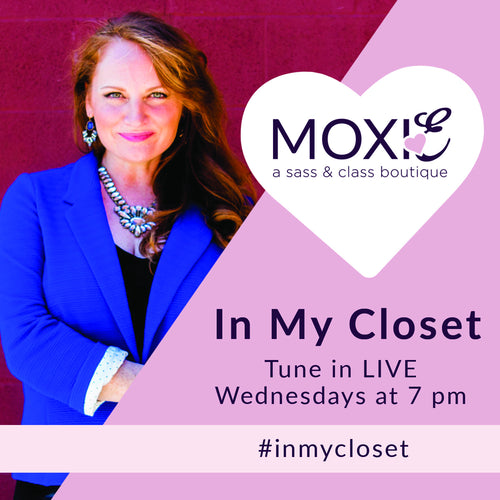 IN MY CLOSET FACEBOOK LIVE