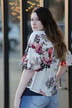 """Cookie"" Floral Print Blouse - Moxie a sass + class boutique 