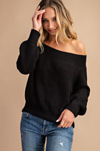 """Forever Me"" Off the Shoulder Sweater"