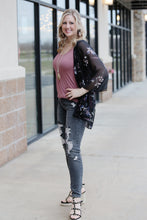 """Cloudy Day"" Grey Destroyed Jeans - Moxie a sass + class boutique 