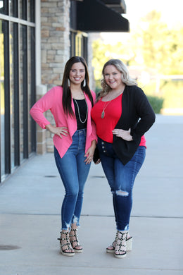Lightweight Jacket for Everyday Wear - Moxie a sass + class boutique | Wichita, KS