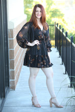 Metallic Butterfly Print Mini Dress - Moxie a sass + class boutique | Wichita, KS