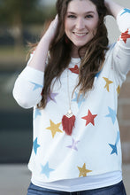 Oh My Stars Long Sleeve Top - Moxie a sass + class boutique | Wichita, KS