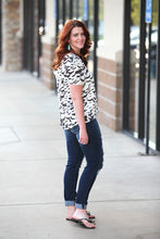 DOVE PRINT BLOUSE - Moxie a sass + class boutique | Wichita, KS