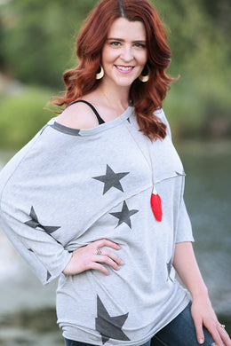 Big Star Top - Moxie a sass + class boutique | Wichita, KS