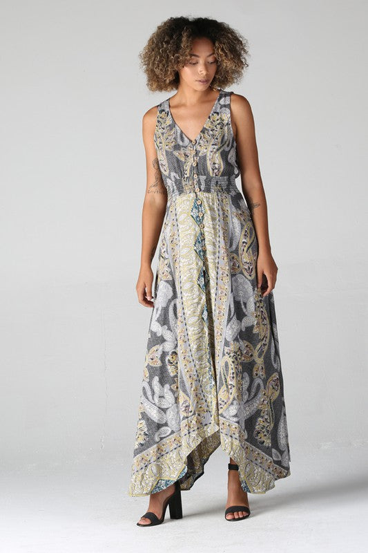 Fortune Teller Maxi Dress - Moxie a sass + class boutique | Wichita, KS