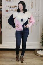 Bubblegum Color Block Sweater