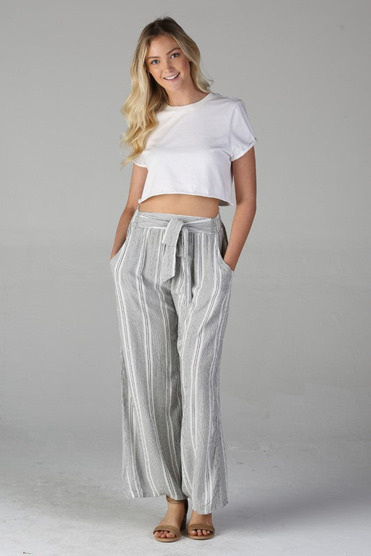 Angie Wide Leg Pants - Moxie a sass + class boutique | Wichita, KS