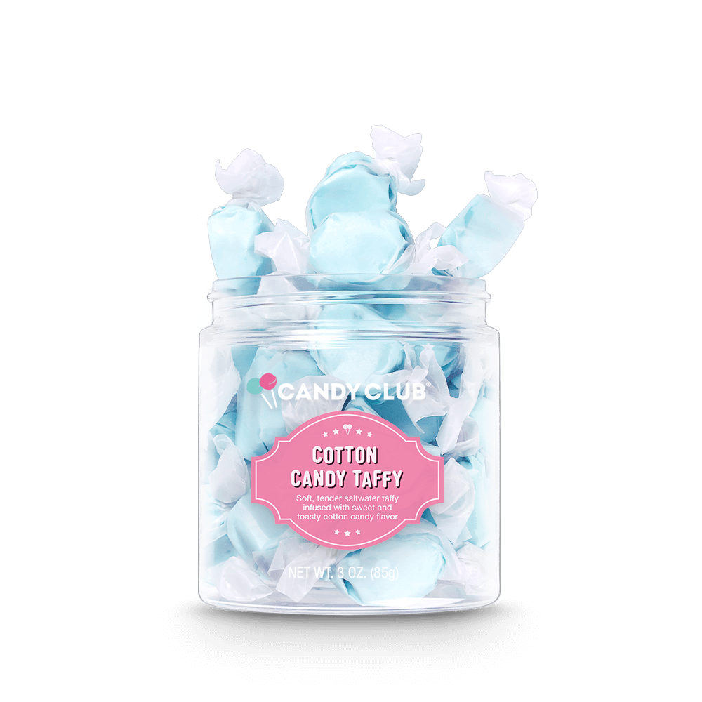 Candy Club Cotton Candy Taffy Candy