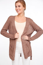 """EMBER"" Cream Sweater Cardigan"