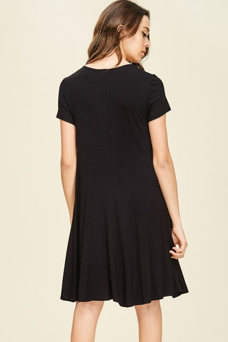 Black  All Day Dress Small