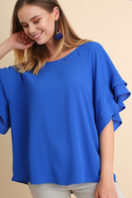 FLY AWAY BEAUTIFUL CHIFFON BLOUSE - Moxie a sass + class boutique