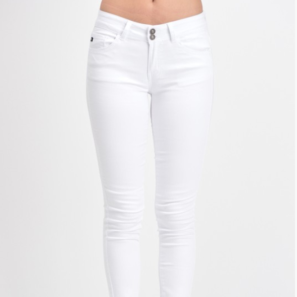 VACAY WHITE SKINNY JEANS