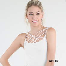 Criss Cross Caged One Size Cami - Moxie a sass + class boutique | Wichita, KS