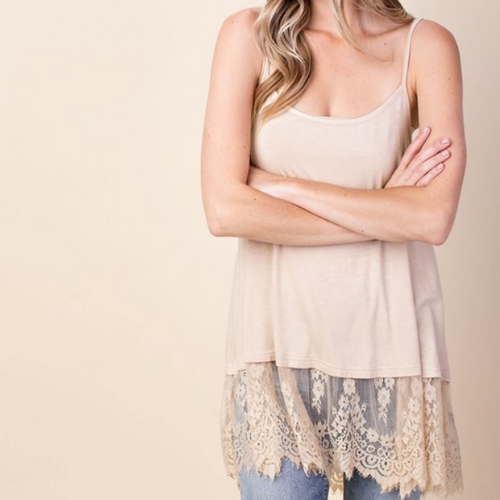 ROMANTIC LACE SLIP DRESS