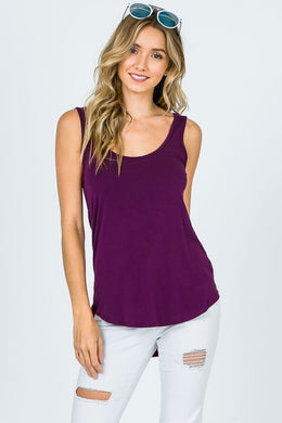 Jordyn Basic Cami Tank Top - Moxie a sass + class boutique | Wichita, KS