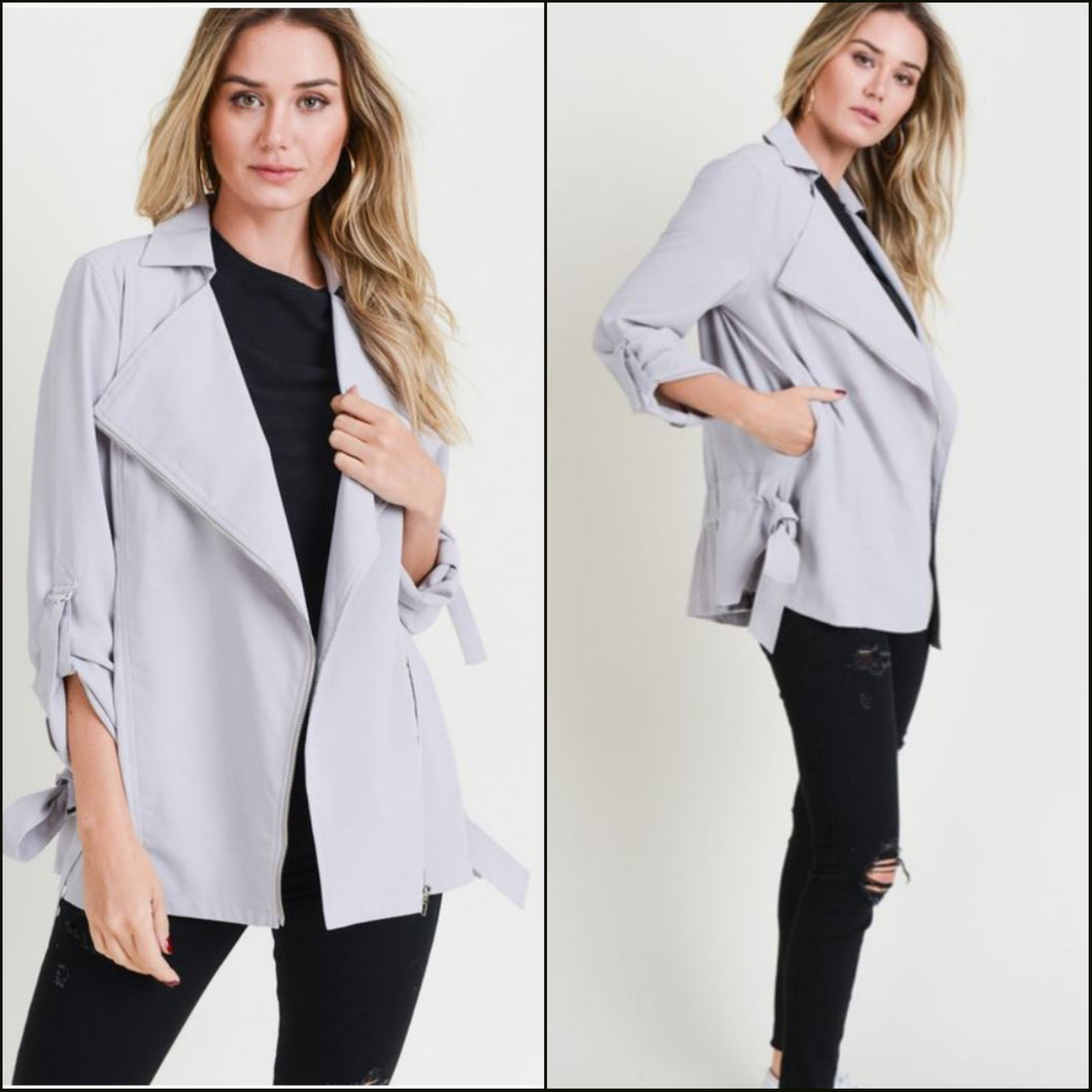 GREY GAIL JACKET