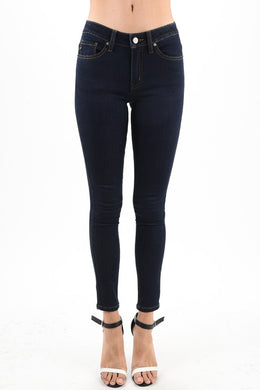 Dallas Dark Wash Skinny Jeans - Moxie a sass + class boutique | Wichita, KS
