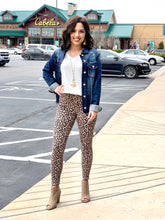 """Flash""  Leopard Print Denim - Moxie a sass + class boutique 