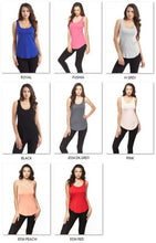 """JORDYN"" Plus Size Basic Tank"