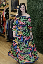 """Amaia"" Tiered Floral Off the Shoulder Maxi Dress - Moxie a sass + class boutique 