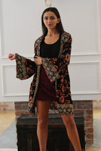 Pulley Floral Kimono Jacket - Moxie a sass + class boutique | Wichita, KS