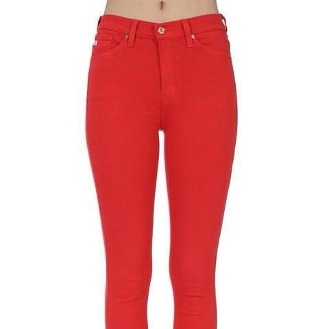 JAMMIN' RED JEANS