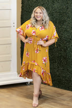 """Domani"" Floral Hi Low Maxi Dress - Moxie a sass + class boutique 