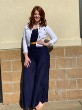 """Flounce"" Strapless Wide Leg Jumpsuit - Moxie a sass + class boutique Wichita Boutique"