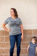 I'm Not for Everyone Graphic Tee - Moxie a sass + class boutique Wichita Boutique
