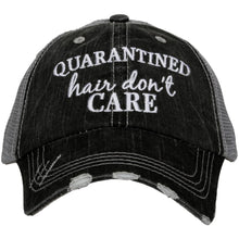 Quarantined Hair Don't Care Women's Trucker Hat