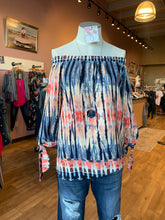 Graphic Off the Shoulder Top - Moxie a sass + class boutique | Wichita, KS